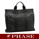 HERMES yell line tote bag MM gray HERMES/50616 fs3gm