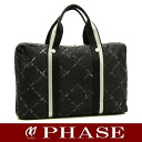 CHANEL old travel line briefcase CHANEL/50629 fs3gm