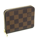 Louis Vuitton ☆ unused N63070 Damier zippy coin purse wallet Louis Vuitton/46765