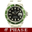 Rolex 16610T LV green submarina M-Black Dial / 39506 fs3gm