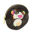 Monogram Louis Vuitton M61928 Panda port Monet Ron coin purse Louis Vuitton/27063