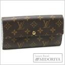Louis Vuitton M60233 モノグラムフルリポルトフォイユサラ long wallet Louis Vuitton/45029