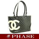 CHANEL A25169 Cambon line large tote bag black CHANEL/51457