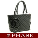 CHANEL A25169 Cambon line large tote bag black CHANEL/51464