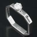 Gucci 750 WG Octagon diamond 0.22 ct ring No. 8 / 90211