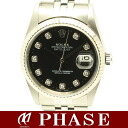 Rolex 16234G date just lindera board diamond 10P/30281 fs3gm