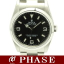 Rolex ☆ unused 114270 Explorer 1 Z-roulette / 30533 fs3gm