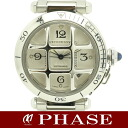 Cartier W31059H3 pasha 38mm convex grid /30623