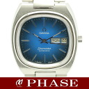 Omega Seamaster day date metal blue gradient リダン men's / 30677 fs3gm