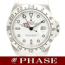 ROLEX (Rolex) 16570 Explorer 2 P-SS automatic winding white-board men and 30761 fs3gm