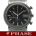 GUCCI (Gucci) 101 M Chrono Chrono Diamond Bezel mens quartz / 30783 fs3gm