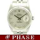 Rolex 16234G date just diamond 10P A turn /30395 fs3gm