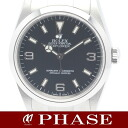 Rolex 114270 Explorer 1 SS black dial mens automatic winding / 31270 fs3gm