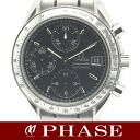 3513.50 omega speed master date SS black men self-winding watch /31330 fs3gm