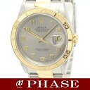 16263 Rolex Thunderbird date just YGSS combination gray Arabia men self-winding watch /31393 fs3gm