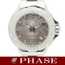 タグホイヤー WAC1217 four Muller 1 glamour diamond bezel brown shell Lady's quartz /31407