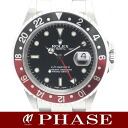 Rolex 16710 GMT Master 2 SS black red bezel mens automatic winding / 31433 fs3gm