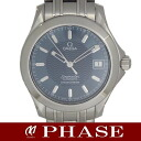 Omega 2501.81 Seamaster 120 m SS blue automatic self-winding men's / 31457