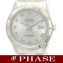 Rolex Datejust 16264 Thunderbird WGSS シルバーローマン mens automatic winding / 31488 fs3gm