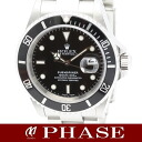 Rolex 16610 サブマリーナデイト SS black dial mens automatic winding Y-/ 31554 fs3gm