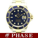 16613 Rolex blue sub marina 750YGxSS A turn /30054 fs3gm