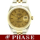 16233 Rolex date just champagne F turn /39762 fs3gm