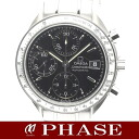 3513.50 omega speed master date SS black men self-winding watch /32096 OMEGA