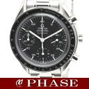 3510.50 omega speed master chronograph SS lindera board men self-winding watch /32175 OMEGA