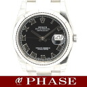 116234 Rolex ☆-free WGSS black long novel men self-winding watch random turn roulette /32201 ROLEX DATEJUST