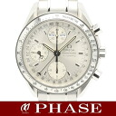 3523.30 omega speed master triple calendar SS silver men self-winding watch /32203 OMEGA