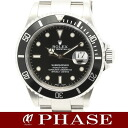 16610 Rolex submarina date SS lindera board men self-winding watch P turn /32244 ROLEX SUB-MARINER