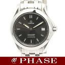 2501.43 omega Cima star date SS gray clockface men self-winding watch /32282 OMEGA