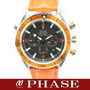 2918.50.83 omega Cima star planet ocean chronograph SSx rubber Orangemen's self-winding watch /32284 OMEGA