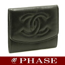 CHANEL coin case lambskin black CHANEL/44294fs3gm