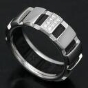 Chaumet 750 WGx rubber clown SM diamond ring (54) / 90918
