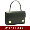 HERMES piano handbag boxcalf /14768