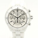 Chanel H1007 J12 chronograph 41 mm white ceramic men's automatic self-winding / 32625 CHANEL