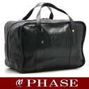 Loewe Boston bag leather black /14993 fs3gm
