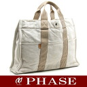 Hermes thereto Tote MM beige series HERMES/50375