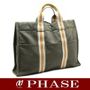 Hermes thereto Tote MM grey system HERMES Ginza limited edition / 50376