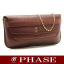 Cartier 2WAY clutch bag must line Cartier/50389 fs3gm