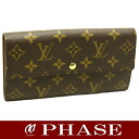 Louis Vuitton ☆-free M61734 モノグラムポルトフォイユサラ long wallet Louis Vuitton/45455