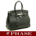 30 HERMES Birkin avian Yong Clement's black K carved seal HERMES/52064