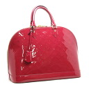 Louis Vuitton M91772 Vernis Alma GM rose Andean handbags Louis Vuitton/16836