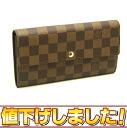 Louis Vuitton ☆ unused N61734 Damier wallet Sarah long wallet Louis Vuitton/46236