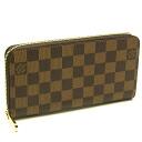 Louis Vuitton ☆ unused N60015 Damier zippy wallet long wallet Louis Vuitton/46281