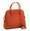 Hermes boiled 31 Ardennes Rouge B mark 2-WAY bag HERMES/52950