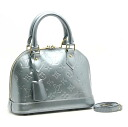 Louis Vuitton M91557 Vernis Alma BB 2 way bag diver Louis Vuitton/16818