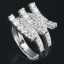 750 WG Melee Diamond 1.50ct Ring Size 13/62513