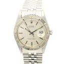 Rolex Datejust 1625 SS silver characters Edition vintage men's automatic winding / 32716 ROLEX DATEJUST